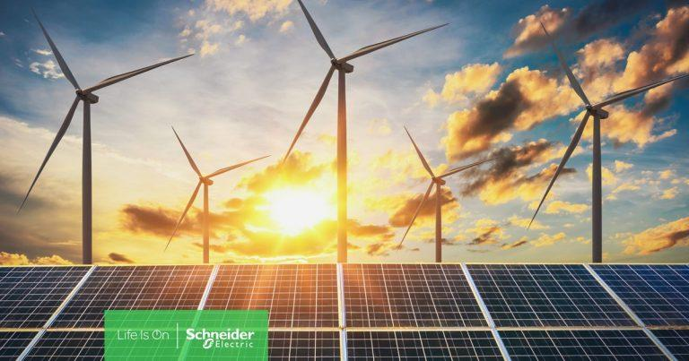 施耐德電機致力創造潔淨的地球